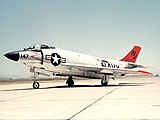 An F3H-2N Demon of Fighter Squadron VF-121