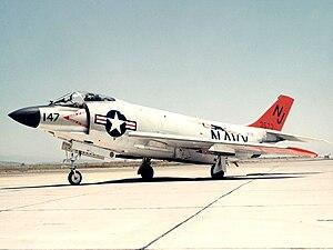 VF-121 - VF-121 F3H in 1956