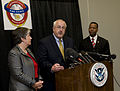 FEMA - 41811 - DHS Secretary Janet Napolitano and FEMA Administrator W. Craig Fugate at a press conference in Texas.jpg