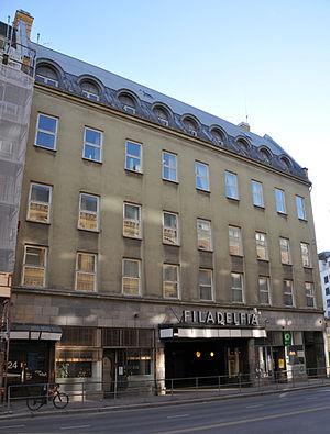 Pentecostalism in Norway - Filadelfia in St. Olavs street, Oslo.