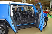 FJ Cruiser With U0027Suicide Doorsu0027 Open