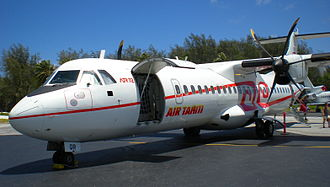 Unit load device - An ATR 72 with its cargo door open