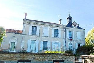 Saint-Séverin-sur-Boutonne Commune in Nouvelle-Aquitaine, France
