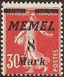 FR 1922 Memel MiNr112 B002.jpg