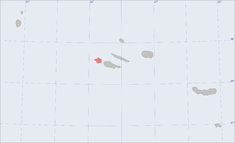 Location of the island of Faial in the archipelago of the Azores