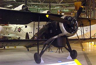 No. 119 Squadron RAF - Swordfish NF370, Imperial War Museum, Duxford (2011)
