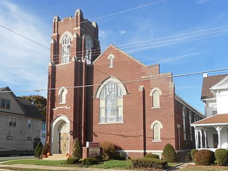 Nescopeck, Pennsylvania - Image: Faith United Lutheran Nescopeck PA