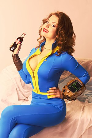 Fallout 4 pin-up style cosplay