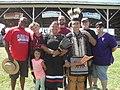 Family of Nanticoke Lenni-Lenape descent, at the annual Nanticoke Lenni-Lenape powwow, Delaware, June 2016.jpg