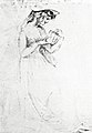 Fanny Burney lisant, par Edward Burney, son cousin.jpg
