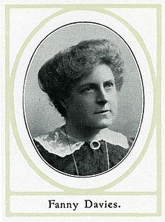 Fanny Davies British pianist