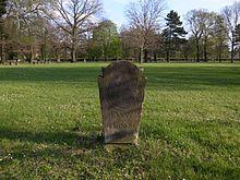 Ruhestätte von Fanny von Tarnow, (Neuer Begräbnisplatz in Dessau) (Quelle: Wikimedia)