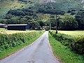 Farm lane in Coed Maes-y-pandy - geograph.org.uk - 214181.jpg