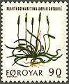 Faroe stamp 042 mountain flowers (plantago maritima).jpg
