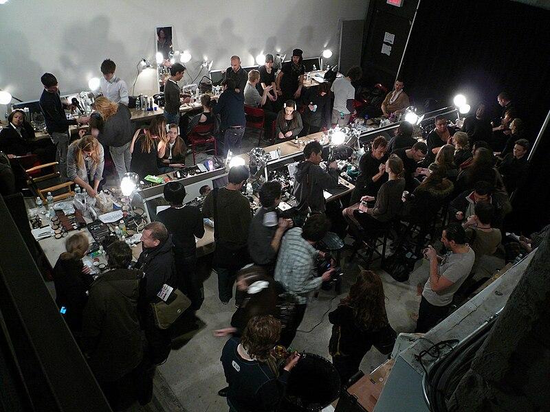 Backstage Fashion Show Jobs