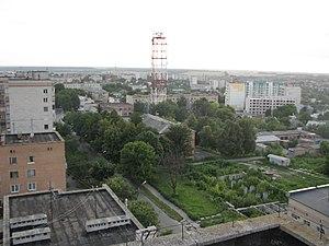 Панорама частини міста, липень 2009 року
