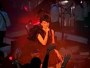 Faye Wong - Faye Wong in concert, Hong Kong, 2003.