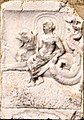 Feldkirchen Sankt Stefan Kirchenruine Relief Meergreif und Nereide 16102011 228.jpg