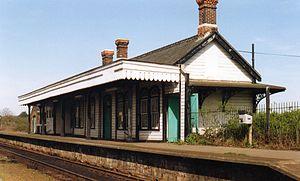 Felixstowe Beach railway station - Image: Felixstowe Beach railway station
