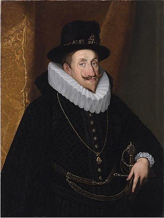 Ferdinand II, Holy Roman Emperor - Portrait of Ferdinand in his twenties, c.1598-1605