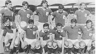 Ferro Carril Oeste - The team that returned to the first division in 1970.