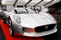 Jaguar C X75 Concept Frontal View