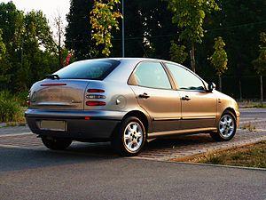 Fiat Brava 1.6 ELX rear.JPG