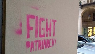 Patriarchy - FIGHT PATRIARCHY: graffiti in Turin (Italy)