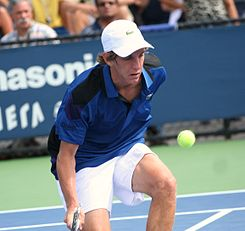 Peliwo en el US Open 2011 Junior.