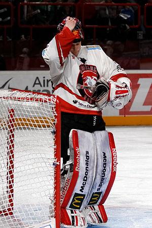 Ronan Quemener - Image: Finale de la coupe de France de Hockey sur glace 2013 095bis