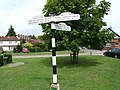 Finger post, Saltwood, Kent - geograph.org.uk - 1413547.jpg