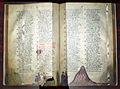 Firenze, commedia di dante, inizio del purgatorio, 1325-50 ca, strozzi 152, cc. 31v-32r, 01.JPG