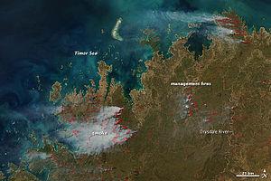 2011–12 Australian bushfire season - Fires in Western Australia 2012 - NASA Earth Observatory