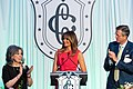 First Lady Melania Trump Attends the Congressional Spouses Luncheon (40889627513).jpg