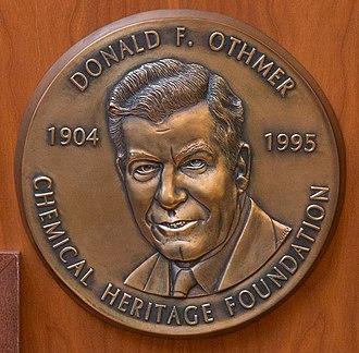 Othmer Gold Medal - First Othmer Gold Medal, awarded 1997