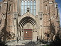 First Presbyterian NOLA Claiborne Jan 2010 Front Door 1.JPG