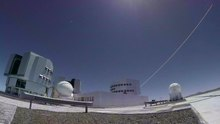 File:First light of new laser on Adaptive Optics Facility at Paranal.webm