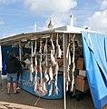 Fischbude im Hafen von Ostende (Oostende Belgien).jpg