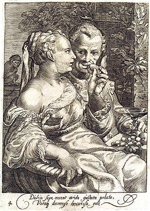 """Taste"" - Fourth of a set of 5 engra..."