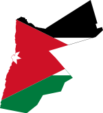 Flag and map of Jordan.svg