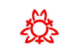 Ina, Saitama - Image: Flag of Ina Saitama