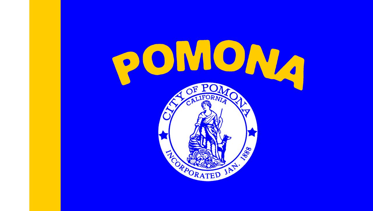 File:Flag_of_Pomona,_California on California Symbols