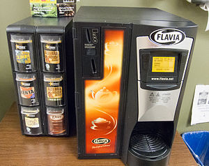 Flavia Beverage Systems - Flavia coin-operated machine.