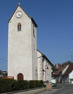 Flaxlanden, Eglise Saint-Sébastien 1