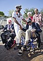 Flickr - Official U.S. Navy Imagery - The commander of Navy Region Hawaii, Naval Surface Group Middle Pacific greets surviving members of the Tuskegee Airmen at a ceremony..jpg