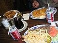Flickr - cyclonebill - Cola, french toast, pandekager, bøf med salat og pommes frites.jpg