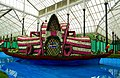 Floral Boat in Lalbagh Flower Show August 2013.JPG