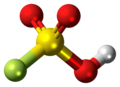 Fluorosulfuric acid molecule ball.png