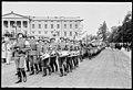 """Fo30141711140083 """"Reservebataljon Holmestrand paraderer for Quisling på Slottsplassen"""" 1942-06-14 (NTBs krigsarkiv, Riksarkivet).jpg"""