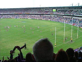 2015 AFL finals series - Image: Foot australien